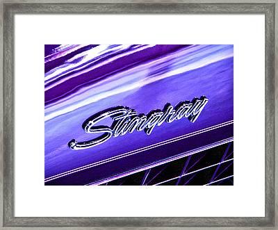 Stingray Framed Print by Bill Robinson