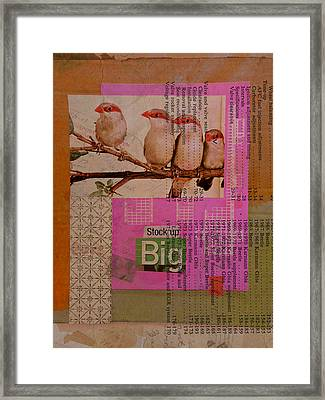 Stock Up Big Framed Print by Adam Kissel