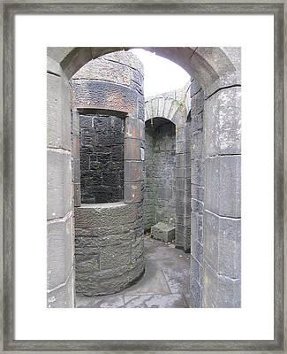 Stone Archwork Framed Print
