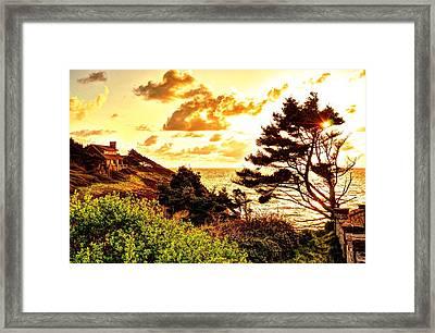 Stone House Framed Print by Daniel Morgan