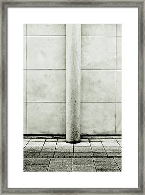 Stone Pillar Framed Print by Tom Gowanlock