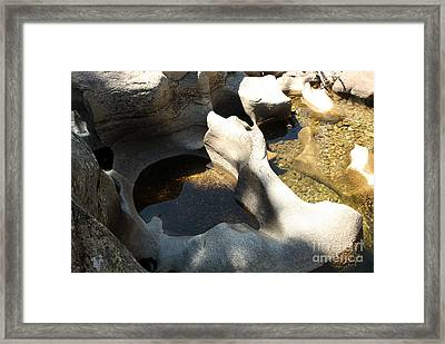 Stone Soup Framed Print by Juan Romagosa