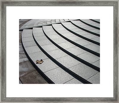 Stone Steps_pyeongchon Park_anyang_south Korea Framed Print by Jon William Lopez