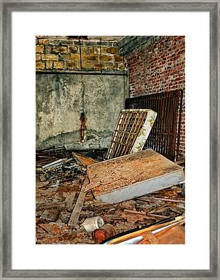 Stonehaven Rehab Framed Print by Steve Harrington