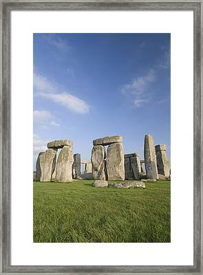 Stonehenge Framed Print by Gloria & Richard Maschmeyer