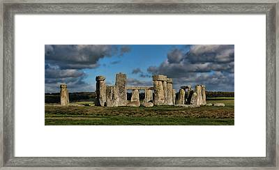 Stonehenge Framed Print by Heather Applegate