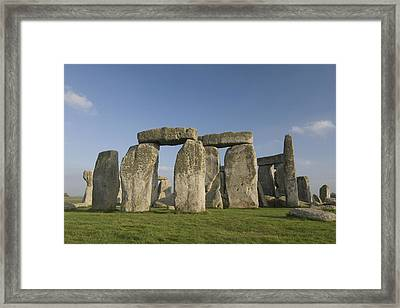 Stonehenge II Framed Print by Gloria & Richard Maschmeyer