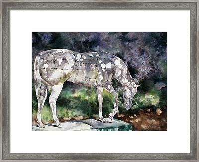 Stonerside Framed Print by Mary McCullah