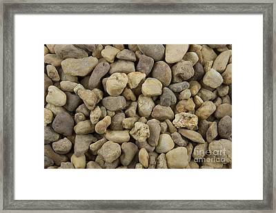 Stones Framed Print by Blink Images