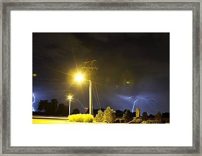 Stop Framed Print by James BO  Insogna