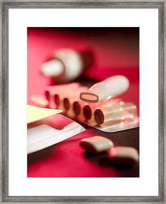 Stop Smoking Aids Framed Print by Tek Image