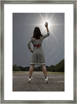 Stop The Sun Framed Print