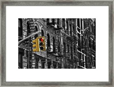 Framed Print featuring the photograph Stop by Thomas Born