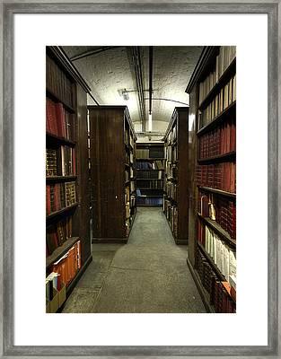Storage Framed Print by Dave Wood