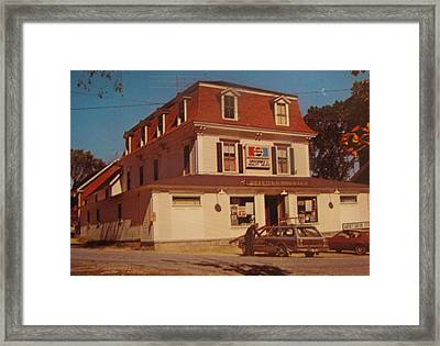 Store Framed Print by HollyWood Creation By linda zanini