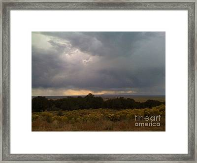 Storm 2 Framed Print by Hannah Lloyd