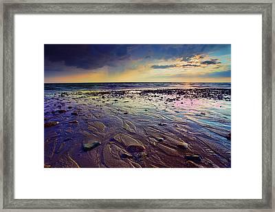 Storm And Sun Framed Print