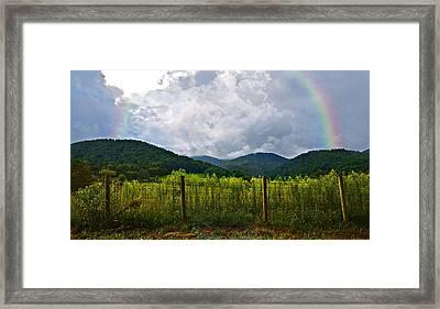 Storm Breaking Framed Print by Susan Leggett