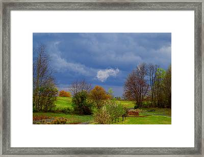 Framed Print featuring the photograph Storm Cell by Kathryn Meyer