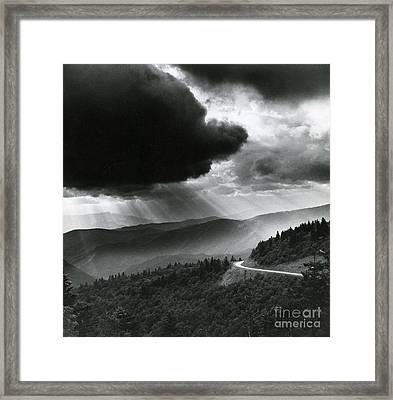Storm Cloud Framed Print by Bruce Roberts and Photo Researchers