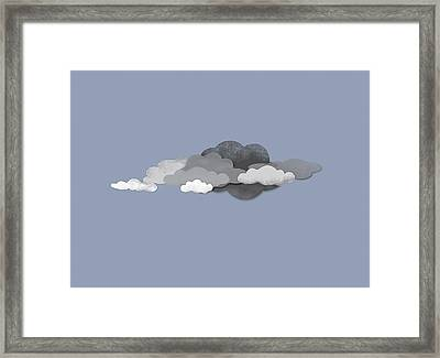 Storm Clouds Framed Print by Jutta Kuss