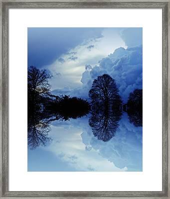 Storm Clouds Framed Print by Sharon Lisa Clarke