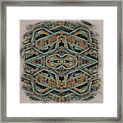 Storm Drain - Twisted Into Something Framed Print
