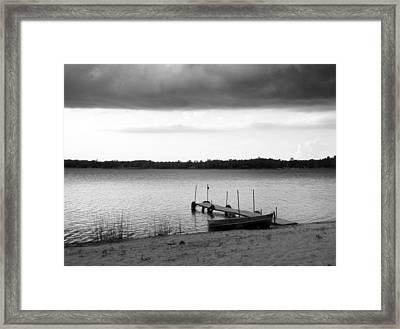 Storm Front Framed Print by Bridget Johnson