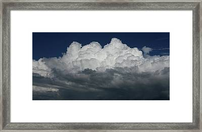 Storm Front Framed Print by David Paul Murray
