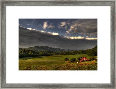 Storm Framed Print by Greg and Chrystal Mimbs