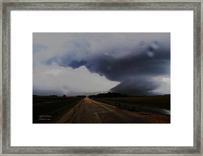 Framed Print featuring the photograph Storm by Itzhak Richter