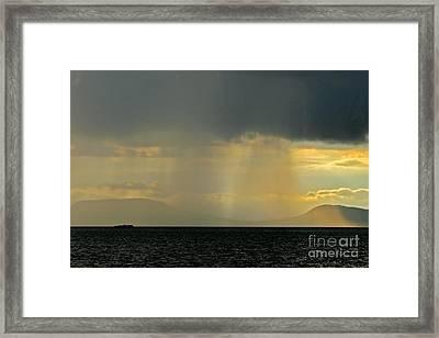 Storm Framed Print by Odon Czintos