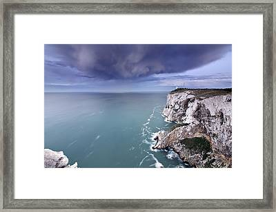 Storm Over Sea Framed Print by Paco Costa
