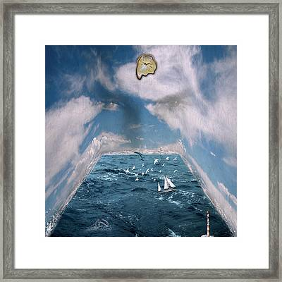 Storm Room  Framed Print by Mark Ashkenazi