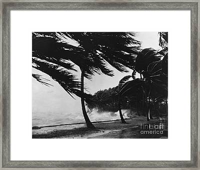 Storm Surge Framed Print by Omikron