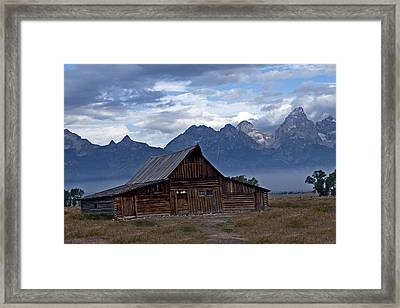 Storm's Rolling In  Framed Print by Eric  Nelson