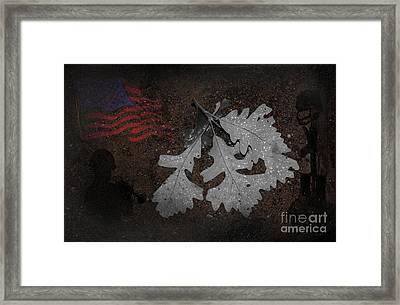 Storms Framed Print by The Stone Age