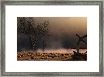 Stormwalk Framed Print by Daniel Eskridge