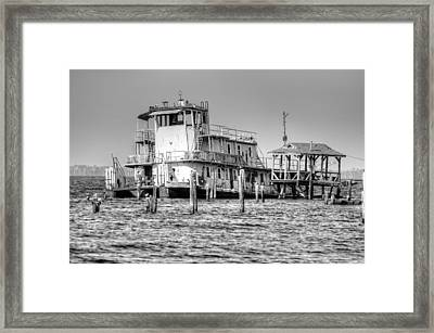 Stormy Framed Print by Barry R Jones Jr