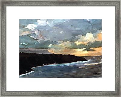 Stormy Day Framed Print by Jon Shepodd