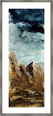 Stormy Monday Framed Print