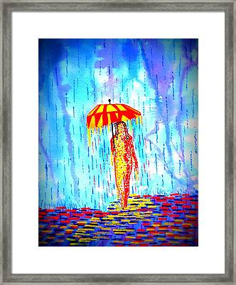 Stormy Mood 2 Framed Print by Connie Valasco