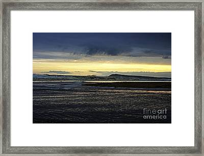Framed Print featuring the photograph Stormy Morning 2 by Blair Stuart