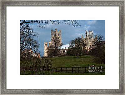 Framed Print featuring the photograph Stormy Sky by Andrew  Michael