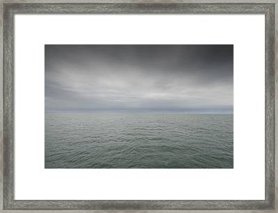Stormy Sky, Nantucket Sound Framed Print by Jack Flash