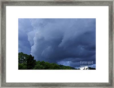 Stormy Summer Sky Framed Print by Thomas R Fletcher