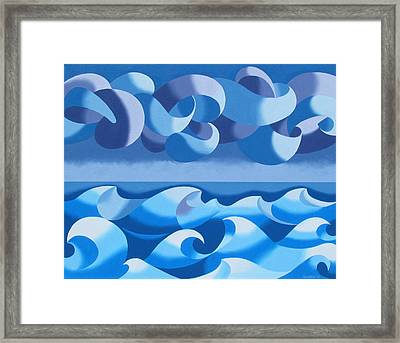 Stormy Weather Framed Print by Mark Webster