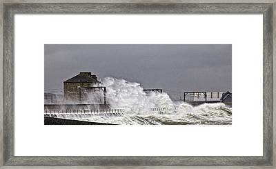 Stormy Weather Framed Print by Fiona Messenger