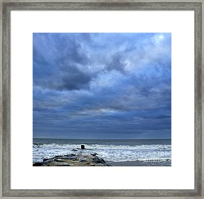 Stormy Weather Framed Print by Tamera James