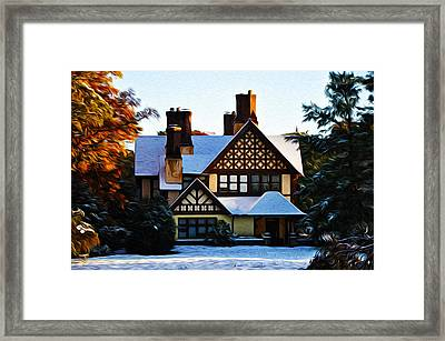 Storybook House Framed Print by Bill Cannon